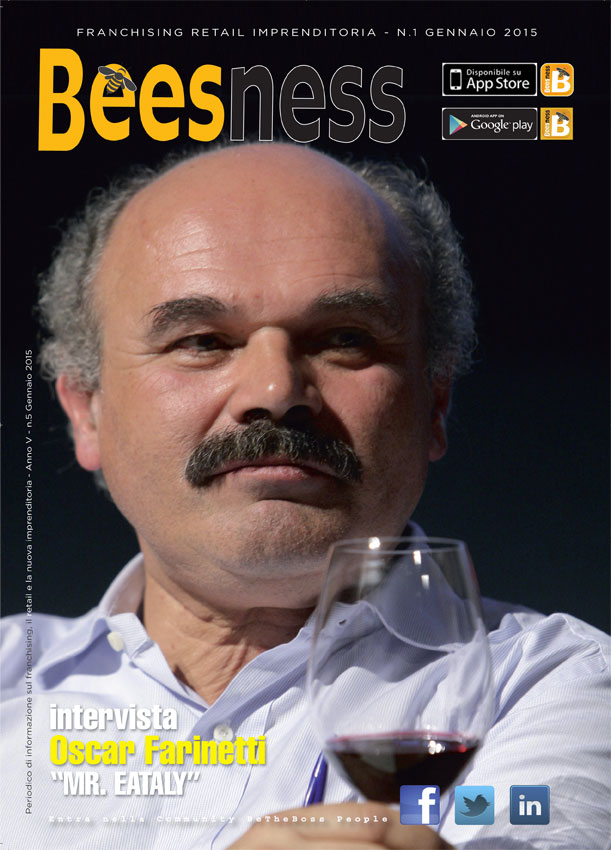 Cover Oscar Farinetti