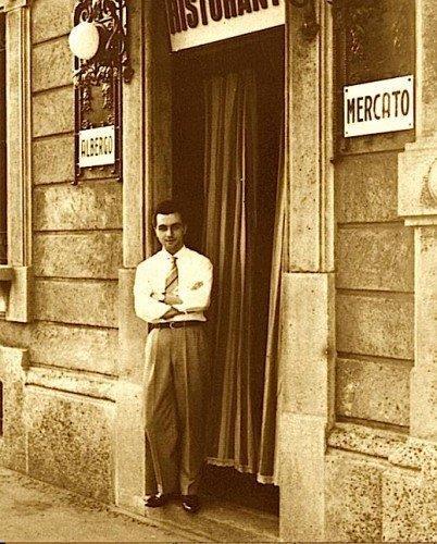 Gualtiero Marchesi da giovane