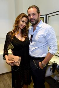 Cecilia Capriotti e Gianluca Mobilia