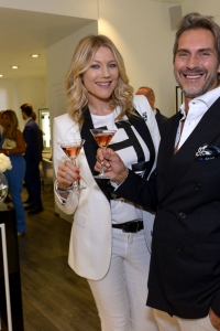 Natasha Stefanenko con Luca Sabbioni