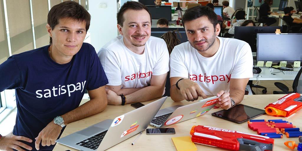 I fondatori di Satispay