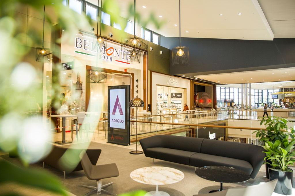 Inaugura a verona il nuovo adigeo oltre 130 negozi di for Negozi di arredamento verona