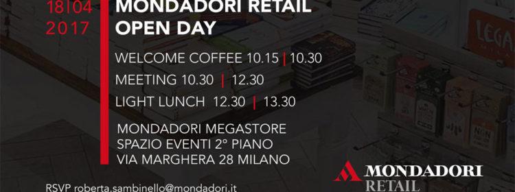 Open Day Mondadori Retail: 18 aprile, via Marghera 28, Milano