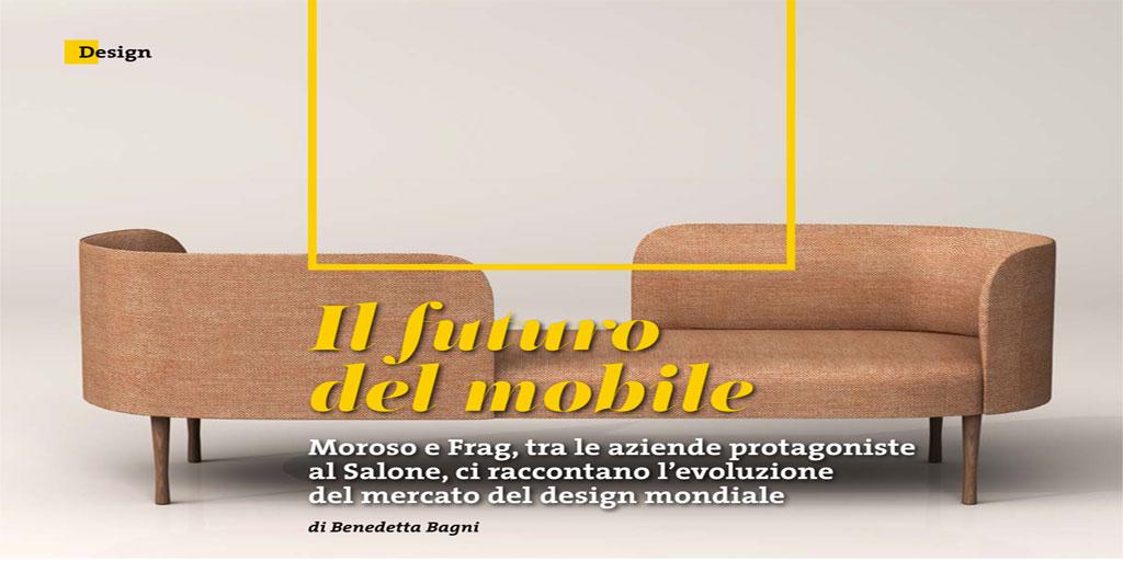 Il futuro del mobile moroso e frag tra le aziende for Aziende design milano