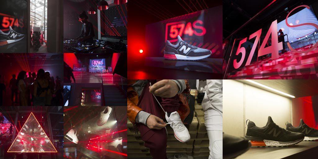 lámpara el fin vacante  New Balance X Highsnobiety: a Milano l'evento internazionale per il lancio  della 574 sport - Rivista Beesness