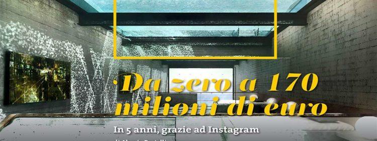 Da zero a 170 milioni di euro in 5 anni, grazie ad Instagram