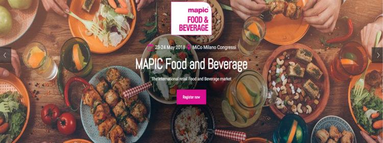 Il lancio di MAPIC Food & Beverage in un momento chiave per il settore